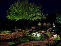 landscape lighting for pools, ponds and spas