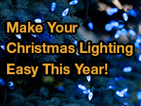 Christmas Lighting Installation in Milwaukee